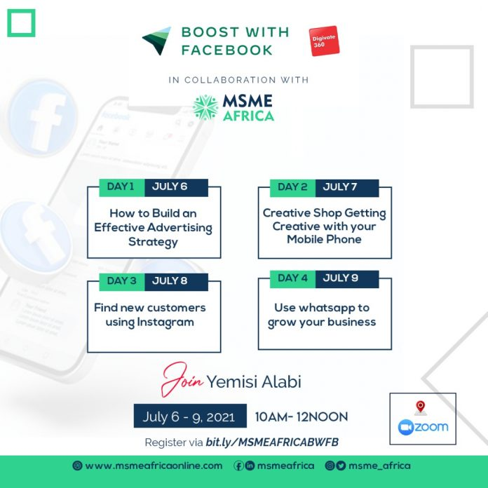 Boost With Facebook: MSME Africa Partners Facebook and Digivate 360 to Equip Entrepreneurs with Digital Skills