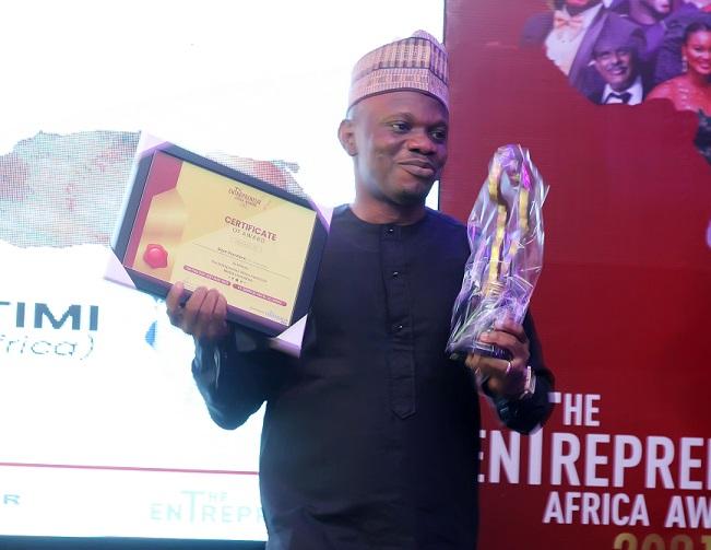 MSME Africa Founder, Seye Olurotimi, Emerges Winner of Entrepreneur Africa Award for Media Innovation 2021