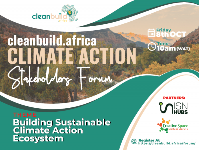 Cleanbuild.africa & Creative Space to hold first Cleantech and climate action stakeholders' forum