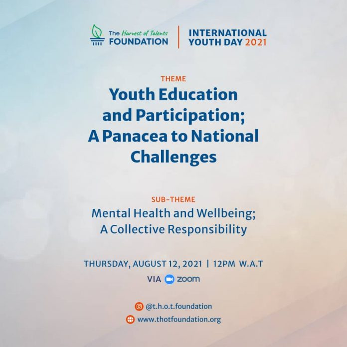 The Harvest of Talents Foundation hosts webinar to commemorate International Youth Day