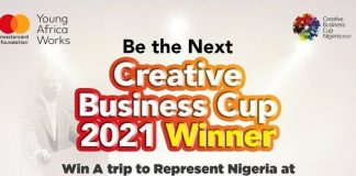 Call for Applications: Creative Business Cup Nigeria 2021