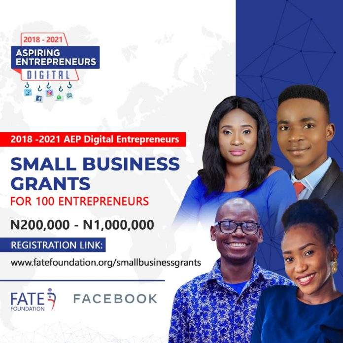 FATE Foundation Announces Small Business Grant Awards for 100 Businesses
