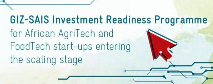 GIZ-SAIS Investment Readiness Programme 2022