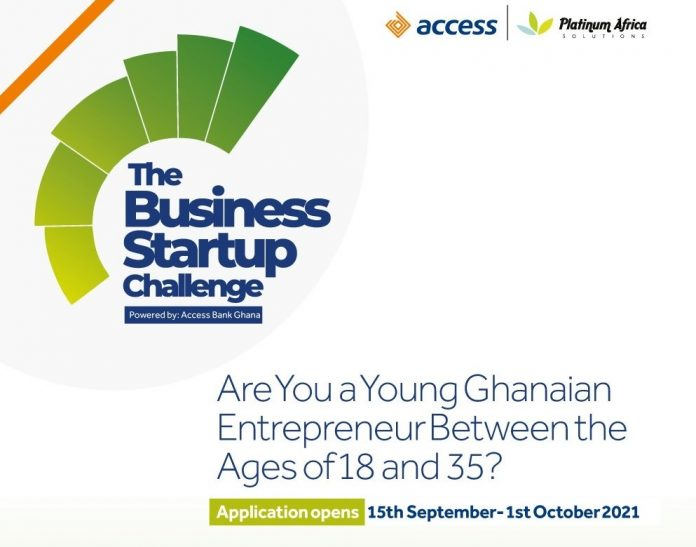Call for Applications: Access Bank Ghana Business Startup Challenge 2021