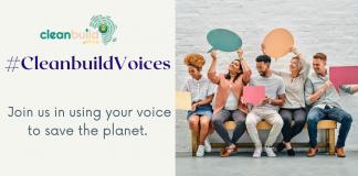 Cleanbuild Africa launches #cleanbuildvoices