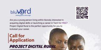 Call for Applications: Project DIGITAL RURAL 1.0 Free Digital Skills Training