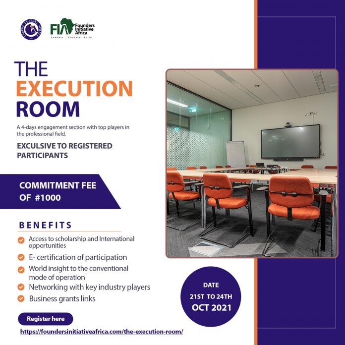 Campus Leaders Africa Partners Founders Initiative Africa to Host The Execution Room
