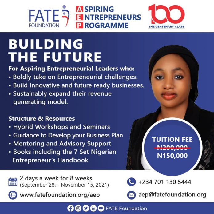 FATE Foundation Introduces New Curriculum to celebrate 100th AEP Class