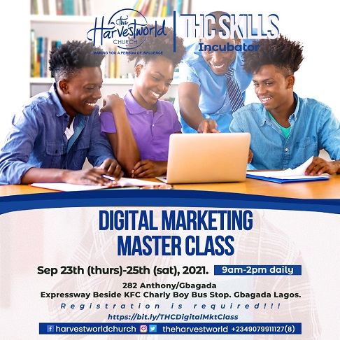 Call for Registration: THC Skills Incubator Holds 3-day Free Digital Marketing Training