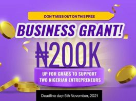 Avuna Business Grant Competition